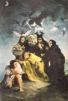 Witch Painting, Mural Painting, Paintings, Francisco Goya, Groucho Marx, Modern Art Pictures, Spanish Artists, Romanticism, Old Master