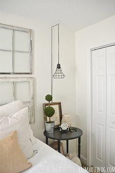 Bedside lamp idea