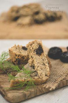 Wegański pasztet z fasoli z suszonymi śliwkami - przepis
