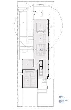 Walnut Residence / Modal Design Floor Plan