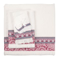 Geometric Jacquard Towel - Towels - Bathroom | Zara Home United States of America