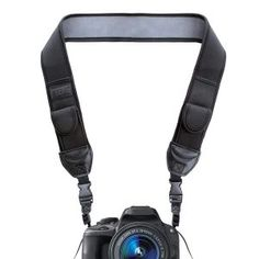 From Usa Gear Digital Camera Neck Strap With Neoprene Design Accessory Pockets And Quick Release Buckles - Compatible With Canon Fujifilm Nikon Sony And More Dslr Mirrorless Instant Cameras - Black Best Camera Strap, Camera Neck Strap, Dslr Camera Straps, Sony Digital Camera, Sony Camera, Digital Slr, Camera Gear, Panasonic Camera, Canon Digital