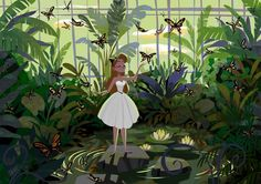 """Art of Daemion Elias George-Cox """"The butterfly house"""""""