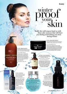 Winter Proof Your Skin with Adorns Hydrating Spritz Adorn Cosmetics, Mineral Cosmetics, Organic Skin Care, Your Skin, How Are You Feeling, Bronze, Winter, Makeup, Health