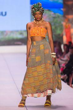 ibu Movement Runway Collection | Mola Top with Ewe Skirt