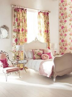 Mod Vintage Life: Romantic Rooms