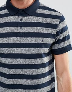 Shop Jack Wills Polo Shirt With Stripe In Navy at ASOS. Jack Wills T Shirt, Polo Shirt, Shirt Men, Boys Shirts, Textiles, Asos, Stripes, Mens Fashion, Navy