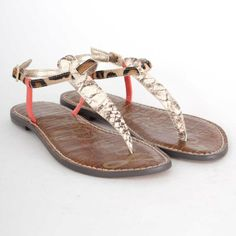 a8551a527d68ff Sam Edelman Gigi Sandal in Black and White  65 Sam Edelman Gigi