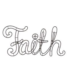 Love this 'Faith' Wall Sign by Dicksons on #zulily! #zulilyfinds