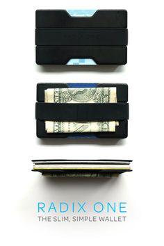 The Slim Simple Wallet / Radix One