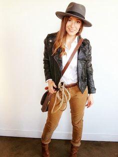 Working Wardrobe: Halloween 2014 DIY - Indiana Jones Costume