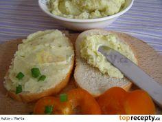 Bramborový salát na chlebíčky Mashed Potatoes, Grains, Menu, Chicken, Ethnic Recipes, Food, Whipped Potatoes, Menu Board Design, Smash Potatoes