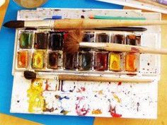 Supplies and tips on organizing art and crafts in the therapy room