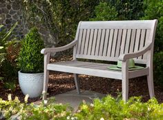 Argento Garden Bench by Jensen Leisure, available at Rich's for the Home (or you can special order it).