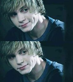Evan Peters as Tate - American Horror Story Murder House Those dimples though.