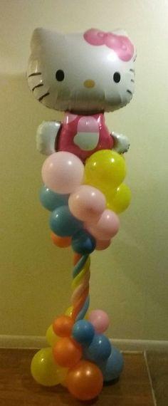 Hello kitty  balloon  decor