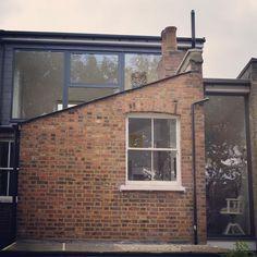 Like the floor to ceiling window Attic Conversion, Floor To Ceiling Windows, Modern Architecture, Extensions, Island, Flooring, Street, Instagram Posts, Modernism