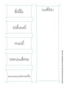 Organizing labels and calendar free download
