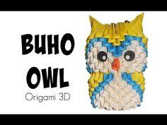 Niño gato - cat kid en origami 3D - YouTube