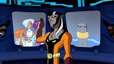 Animated Legion Chronology: Timber Wolf is inducted. From Legion season 1, episode 2 (2007).