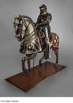 Armadura completa y barda para caballo de Hans Ringler - Alemania (Nüremberg)…