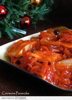 Najlepsze śledzie wigilijne Śledzie można zrobić 2 dni… na Stylowi.pl Meat Recipes, Mexican Food Recipes, Appetizer Recipes, Cooking Recipes, Healthy Recipes, Ethnic Recipes, Christmas Cooking, Frugal Meals, Healthy Dishes