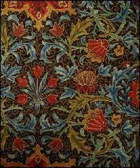 I love William Morris.  'Have nothing in your home that you do not know to be useful or believe to be beautiful'.