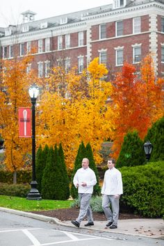 Fall at The Culinary Institute of America in Hyde Park, NY.