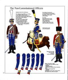 Sottufficiali degli ussari, 1804-1812