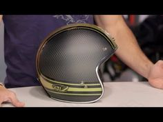 Bell Custom 500 Carbon RSD Bomb Helmet Review at RevZilla.com - YouTube