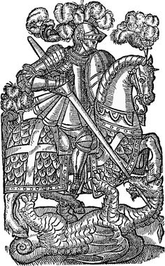St. George slays the dragon