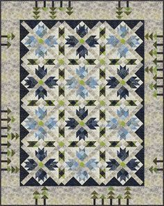 Smokey River Quilt pattern by Whirligig Designs. | Crazy for ... : smokey river quilt kit - Adamdwight.com