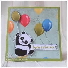 Image result for panda party valentines card pinterest stampinup