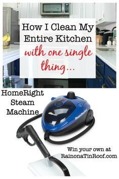 Enter to win a HomeRight SteamMachine Multi-Purpose Power Steamer (ARV $99.99). The giveaway is open to US residents only and ends March 26, 2015.