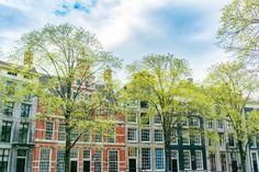 Lente in Amsterdam van Sjoerd van der Wal