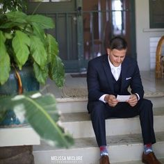 W O R D S - little things mean so much - why not write a sweet hand-written note to your groom telling him how much you can't wait to be his wife and deliver it to him just before the ceremony.  Priceless.