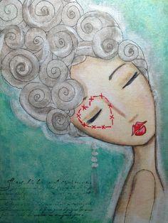 Mademoiselle - Art by Kim Wilkowich