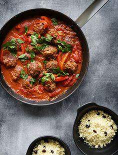 Marokkanske kødboller med couscous   Miras Madblog   Bloglovin'