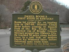 Daniel Boone in KY Historic Marker | Flickr - Photo Sharing!