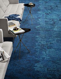 blue carpet #decor #colors