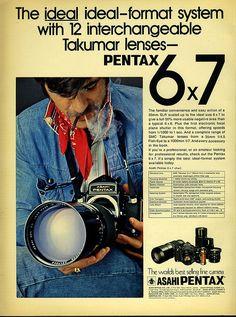Smoothest camera ad ever. Pentax 67