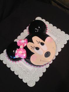 Minnie Mouse cake! Marble cake w fondant exterior   http://www.facebook.com/FinishingTouchesByLiz?ref=hl#!/FinishingTouchesByLiz