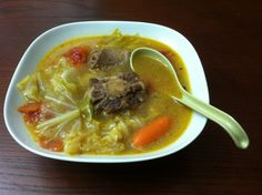 Ox Tail Soup