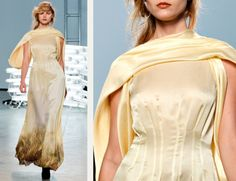 Rodarte, AW11, New York. There are a myriad of ways that you can make fabric