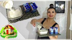 CREME DE LEITE EM 3 MINUTOS SIMPLES E FÁCIL - Culinária em Casa 1, Home Appliances, Videos, Homemade Mayonnaise, Clotted Cream, Simple, Gastronomia, Food Cakes, Food