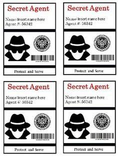 Spy Room Transformation: Secret Agent Badges and Fingerpri Classroom Themes, Classroom Activities, Book Activities, Spy Birthday Parties, Spy Party, Secret Agent Party, Detective Theme, Indoor Activities For Kids, Secret Agent Activities For Kids