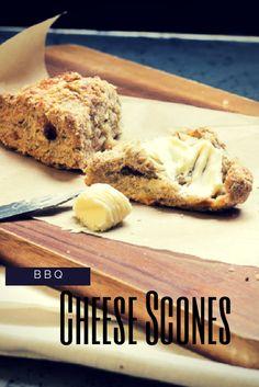 Käse Scones als Beilage zum Grillen, für Abwechslung in der Lunchbox oder beim Vesper (cheese scones perfect for BBQ) by Lunchforone