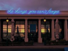 Tim Etchells, The Things You Can't (Forget)