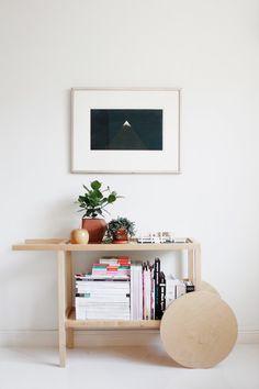 Interesting inspiration from the Aalto bar cart... Joku tovi sitten kirjoitin siitä Ikean uudesta Trendig-mallistosta, jonka tavarataloihin saapuminen oli...