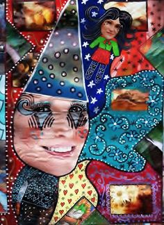 Dottie and Caitlyn Jenner! Original Collage, Resemblance Only, Digital Image by LaurasUniques on Etsy